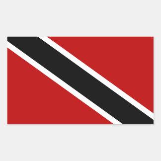 Trinidad and Tobago Flag Rectangular Sticker