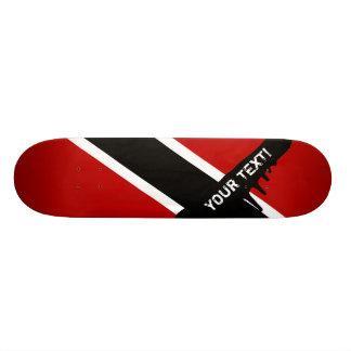 Trinidad and Tobago Flag Skateboard Deck