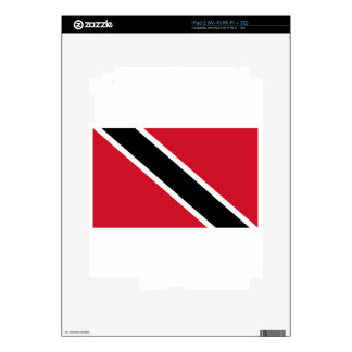 Trinidad And Tobago Flag Skins For The iPad 2