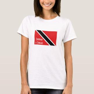 Trinidad and Tobago flag souvenir tshirt