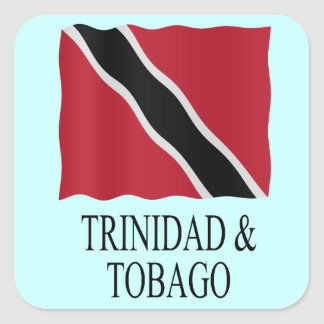 Trinidad and Tobago flag Square Sticker