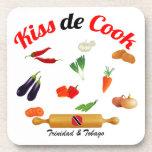 Trinidad and Tobago Food Drink Coaster