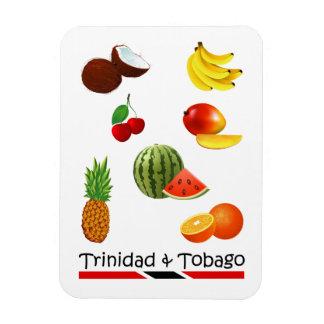 Trinidad and Tobago Fruits Rectangular Photo Magnet