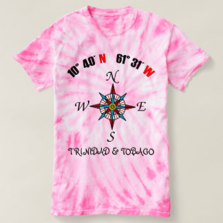 Trinidad and Tobago Geographic T-shirt