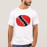 Trinidad and Tobago Gnarly Flag T-Shirt