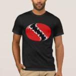 Trinidad and Tobago Gnarly Flag T-Shirt