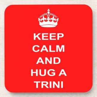 Trinidad and Tobago guardan calma y abrazan un Posavasos De Bebida