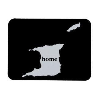 Trinidad And Tobago Home Map Rectangular Photo Magnet
