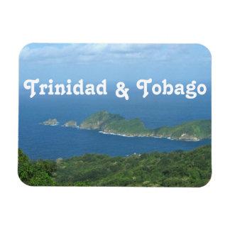Trinidad and Tobago Rectangle Magnet