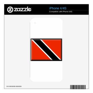 Trinidad and Tobago iPhone 4S Skin