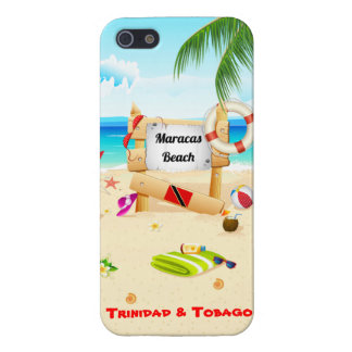 Trinidad and Tobago iPhone 5/5S Covers