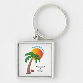 Trinidad and Tobago Islands In The Sun Keychain
