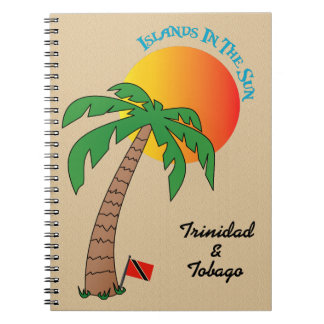 Trinidad and Tobago Islands In The Sun Notebook