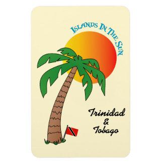 Trinidad and Tobago Islands In The Sun Rectangular Photo Magnet