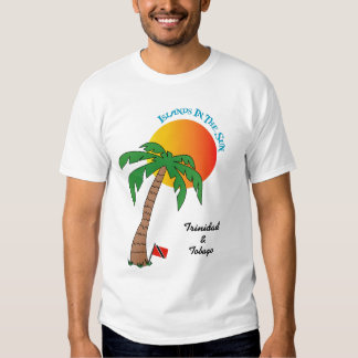 Trinidad and Tobago Islands In The Sun T Shirt