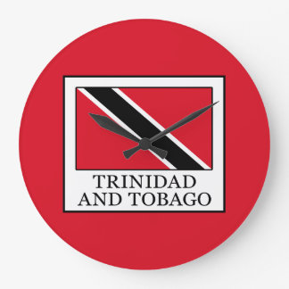 Trinidad and Tobago Large Clock