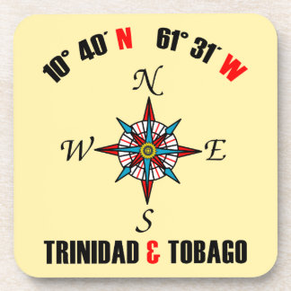 Trinidad and Tobago Latitude & Longitude Coaster