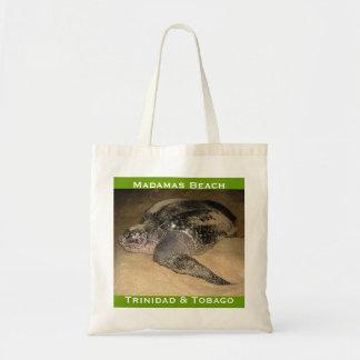 Trinidad and Tobago Leather-Back Turtle Tote Bag