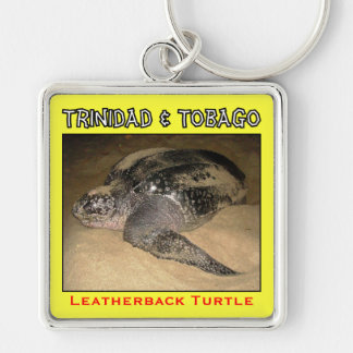 Trinidad and Tobago Leatherback Turtle Keychain