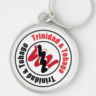 Trinidad and Tobago Logo Design Keychain