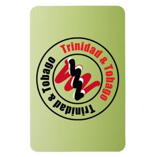 Trinidad and Tobago Logo Design Rectangular Photo Magnet
