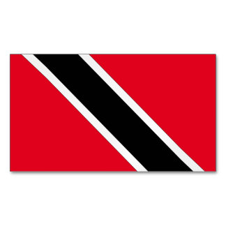 Trinidad and Tobago Magnetic Business Cards (Pack Of 25)