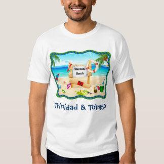Trinidad and Tobago Maracas Beach Scene T Shirts
