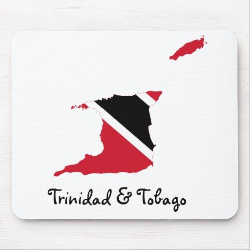 Trinidad and Tobago Mousepad Tapete De Ratones