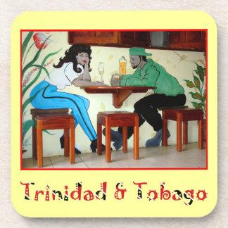 Trinidad and Tobago murales Posavasos De Bebidas