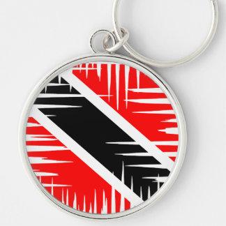 Trinidad and Tobago National Flag Keychain