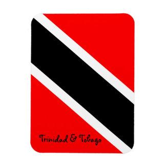 Trinidad and Tobago National Flag Rectangular Photo Magnet