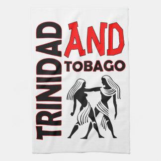 Trinidad and Tobago Native People Kitchen Towel
