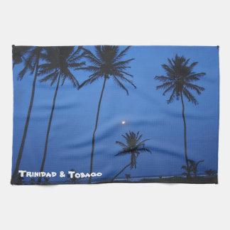 Trinidad And Tobago Nightfall At Cocal Manzanilla Towels