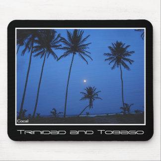 Trinidad and Tobago Nightfall At Manzanilla Beach Mouse Pad