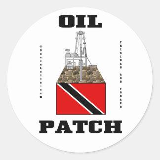 Trinidad And Tobago Oil Fields,Sticker,Oil,Gas