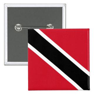 Trinidad and Tobago Pin Cuadrado