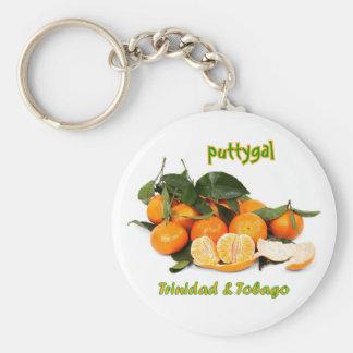 Trinidad and Tobago Puttygal Fruits Keychain
