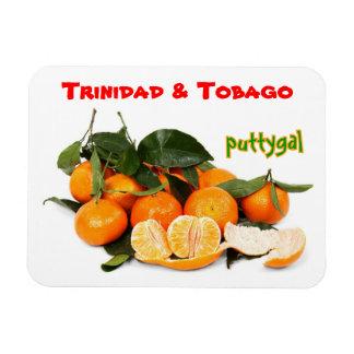Trinidad and Tobago Puttygal Fruits Rectangular Photo Magnet