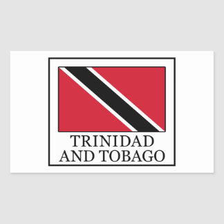 Trinidad and Tobago Rectangular Sticker