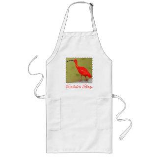 Trinidad and Tobago Red Scarlet Ibis Long Apron