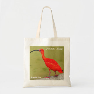 Trinidad and Tobago Red Scarlet Ibis Tote Bag