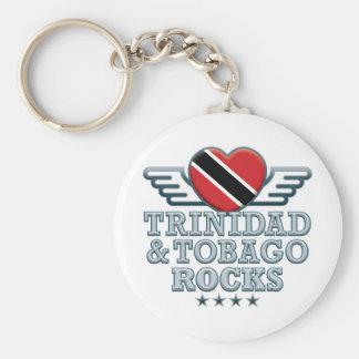 Trinidad and Tobago Rocks v2 Keychain