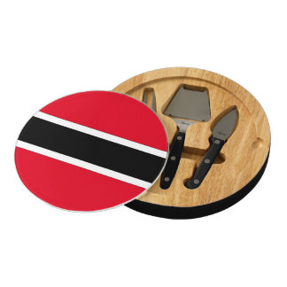Trinidad and Tobago Round Cheeseboard