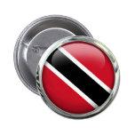 Trinidad and Tobago señalan la bola por medio de Pin Redondo De 2 Pulgadas