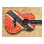 Trinidad and Tobago señalan la guitarra acústica Postal
