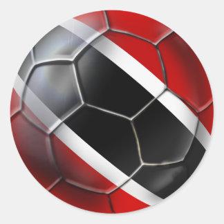 Trinidad and Tobago Soca Warriors Classic Round Sticker