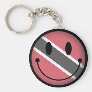 Trinidad and Tobago sonrientes Llaveros Personalizados
