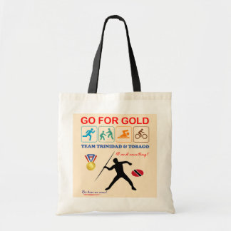 Trinidad and Tobago Sports Design Tote Bag