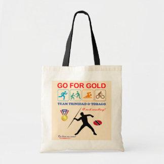 Trinidad and Tobago Sports Design Tote Bag