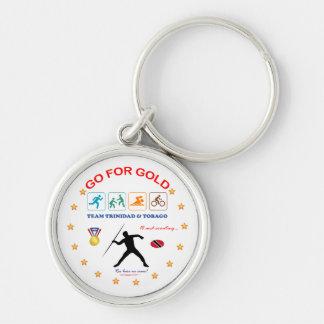 Trinidad and Tobago Sports Keychain